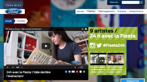 Ford Canada(FR) – 9 Artistes