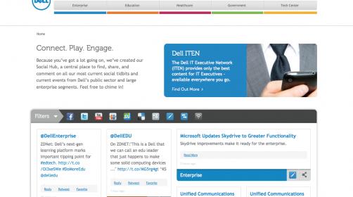 Dell Social Hub